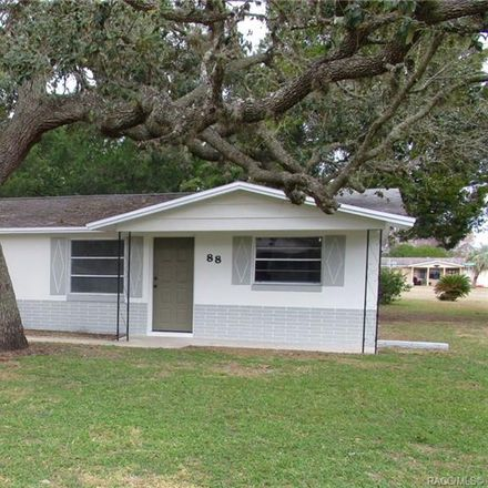 Rent this 2 bed house on 88 South Monroe Street in Beverly Hills, FL 34465