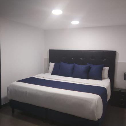 Rent this 1 bed loft on Iglesia Nuestra señora del Pilar in Carrera 36, Teusaquillo