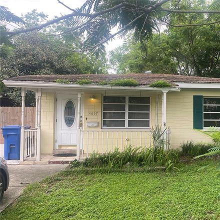 Rent this 3 bed house on 4657 Iris Street North in Saint Petersburg, FL 33714