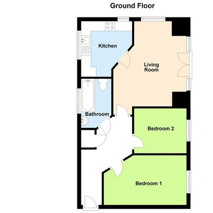 Rent this 2 bed apartment on Sotherby Drive in Cheltenham GL51 0FT, United Kingdom