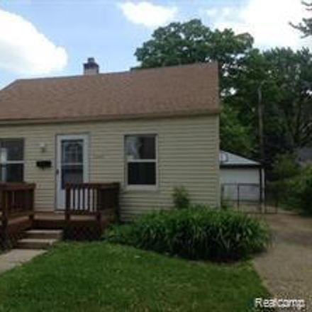 Rent this 2 bed house on 23344 Tawas Avenue in Hazel Park, MI 48030