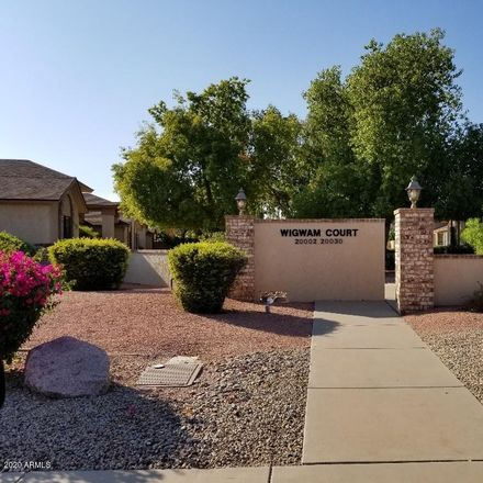 Rent this 2 bed townhouse on 20026 North Broken Arrow Drive in Sun City West, AZ 85375