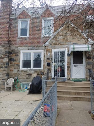 Rent this 3 bed townhouse on 7259 Spruce Street in Upper Darby, PA 19082