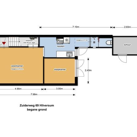 Rent this 0 bed apartment on Zuiderweg in 1221 HE Hilversum, Netherlands