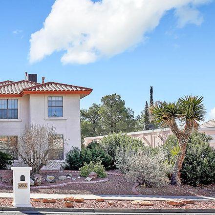 Rent this 4 bed apartment on 6568 Brisa del Mar Drive in El Paso, TX 79912
