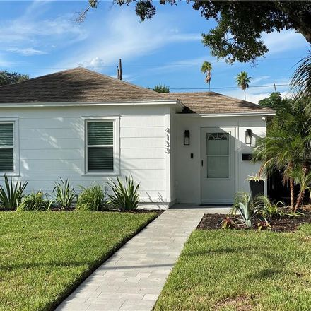 Rent this 2 bed house on 4133 3rd Avenue North in Saint Petersburg, FL 33713