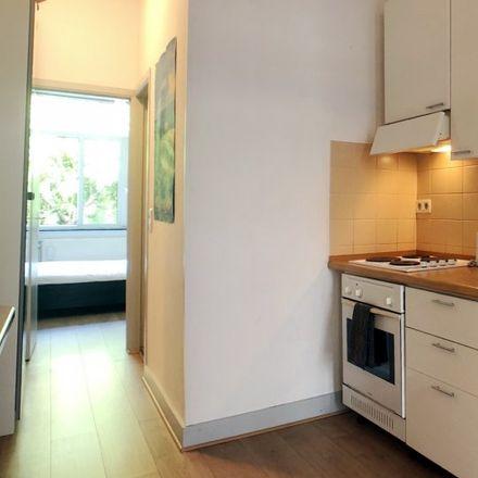 Rent this 1 bed apartment on Rue Jean d'Ardenne - Jean d'Ardennestraat 37 in 1000 Ixelles - Elsene, Belgium