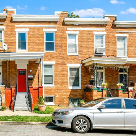 Rent this 2 bed townhouse on 1113 North Luzerne Avenue in Baltimore, MD 21213
