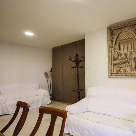 Rent this 3 bed apartment on Polideportivo de Quatre Carreres in Carrer d'Ángel Villena, 46013 Valencia