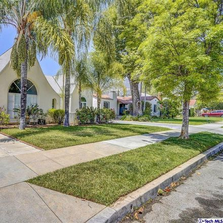 Rent this 4 bed house on 1137 North Everett Street in Glendale, CA 91207