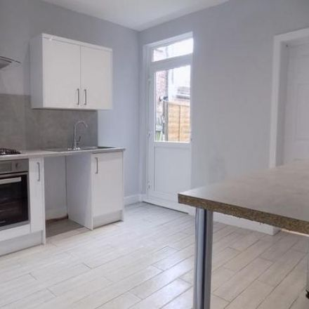 Rent this 4 bed house on Strathmore Church in 43 Strathmore Avenue, Luton LU1 3NY