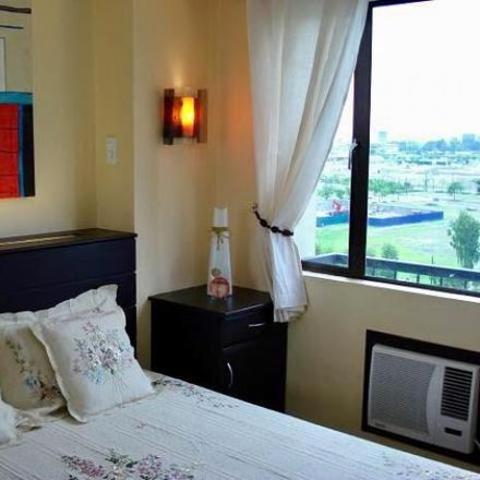 Rent this 1 bed condo on Tower 2 in Forbes Town Road, Taguig