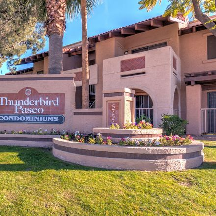 Rent this 2 bed apartment on 5757 West Eugie Avenue in Maricopa County, AZ 85304