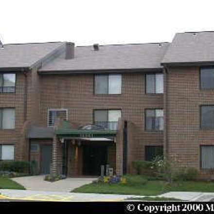 Rent this 2 bed apartment on 15301 Beaverbrook Ct in Silver Spring, MD