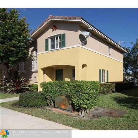 Rent this 2 bed townhouse on 6031 Southwest 19th Street in North Lauderdale, FL 33068