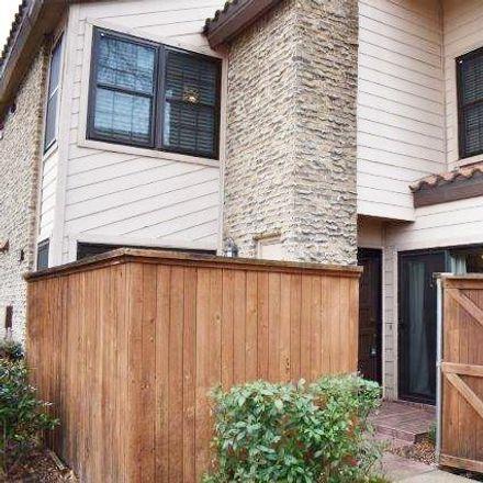 Rent this 2 bed condo on 5626 Preston Oaks Road in Dallas, TX 75254