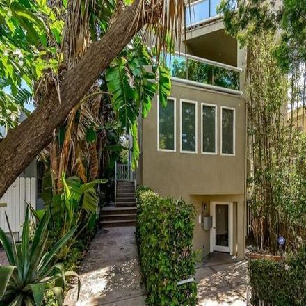 Rent this 3 bed condo on 630 Huntley Drive in West Hollywood, CA 90069