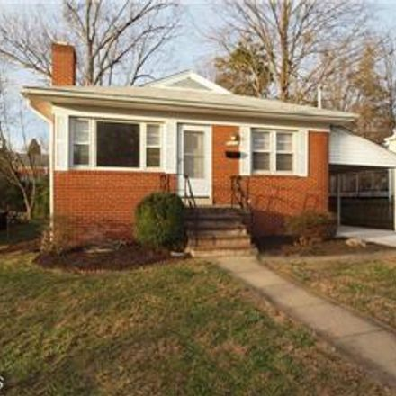 Rent this 4 bed house on 6051 20th Street North in Arlington, VA 22205