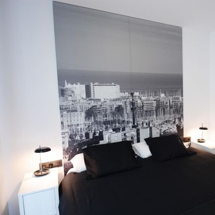 Rent this 1 bed apartment on Via Favència in 08001 Barcelona, Spain