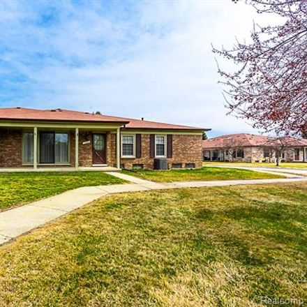 Rent this 2 bed condo on 14784 Brewster Court in Shelby Charter Township, MI 48315