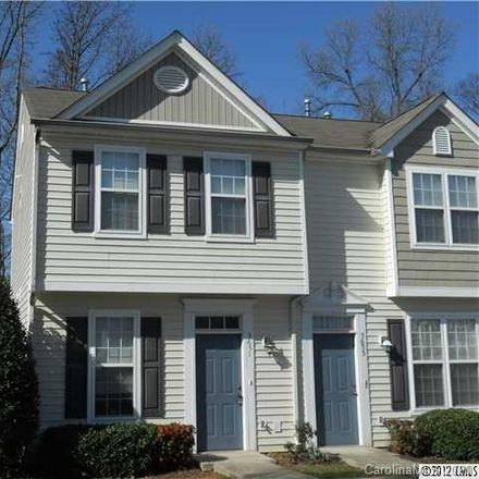 Rent this 2 bed townhouse on 5651 Seths Drive in Charlotte, NC 28269