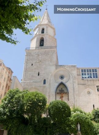 Rent this 2 bed apartment on 4 Montée des Accoules in 13002 Marseille, France