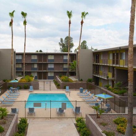 Rent this 1 bed apartment on 4950 East Thomas Road in Phoenix, AZ 85018