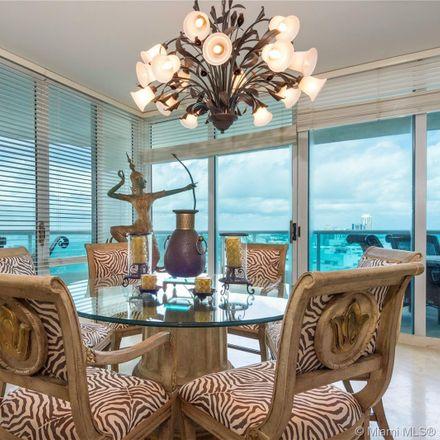 Rent this 3 bed condo on Capobella in 5025 Collins Avenue, Miami Beach