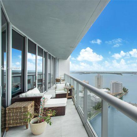 Rent this 2 bed condo on 495 Brickell Avenue in Miami, FL 33131