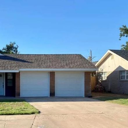 Rent this 3 bed house on 3709 Humble Avenue in Midland, TX 79707