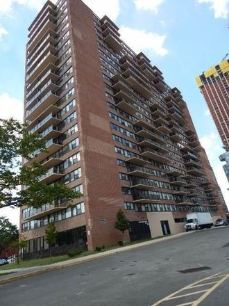 Rent this 1 bed apartment on Marin Blvd in Jersey City, NJ