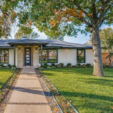 Rent this 4 bed house on 12033 Bencrest Place in Dallas, TX 75244