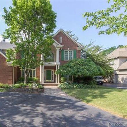 Rent this 4 bed apartment on Scotch Elementary School in Commerce Road, West Bloomfield Township