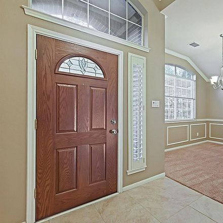 Rent this 3 bed house on Songful Woods Pl in Conroe, TX