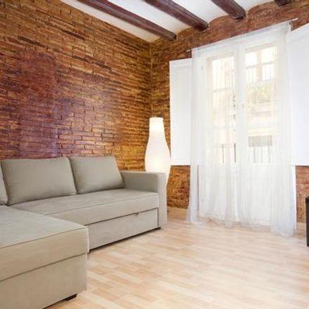 Rent this 3 bed apartment on Cerveceria El Tequila in Carrer d'Obradors, 08001 Barcelona