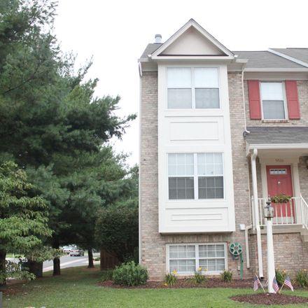 Rent this 3 bed townhouse on 9516 Brigantine Lane in Manassas, VA 20110