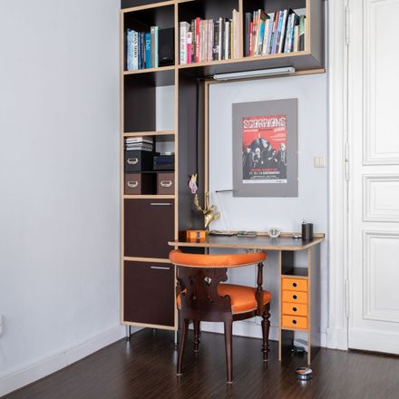 Rent this 2 bed apartment on Pestalozzistraße 6 in 10625 Berlin, Germany