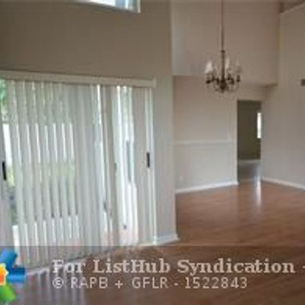 Rent this 4 bed house on 4233 Northwest 61st Court in Coconut Creek, FL 33073