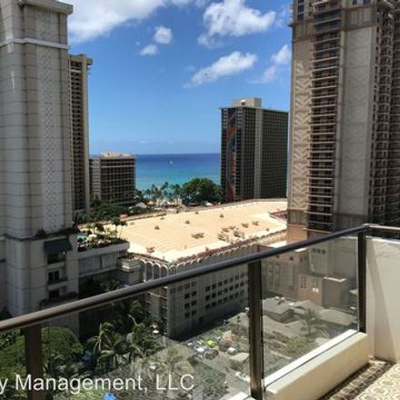 Rent this 2 bed apartment on Wailana in 1860 Ala Moana Boulevard, Honolulu