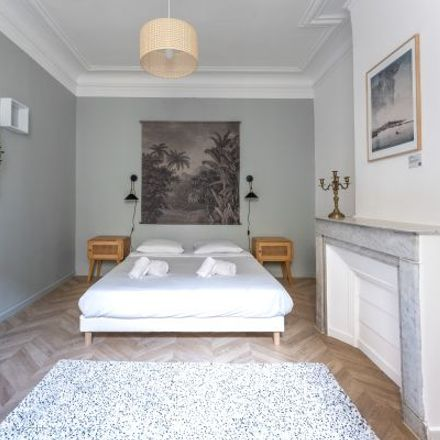 Rent this 2 bed apartment on 19B Boulevard Jacques Saadé Quai de la Joliette in 13002 Marseille, France