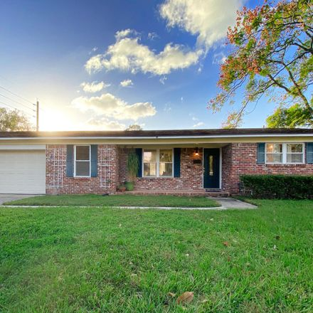 Rent this 3 bed house on Leicester Place in Jacksonville, FL 32217