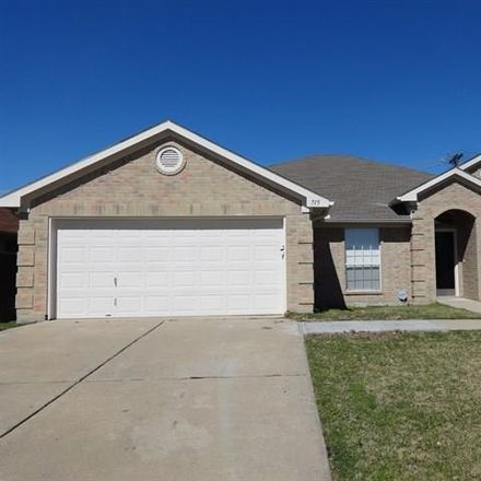 Rent this 3 bed house on Fossil Hill Drive in Arlington, TX 76002