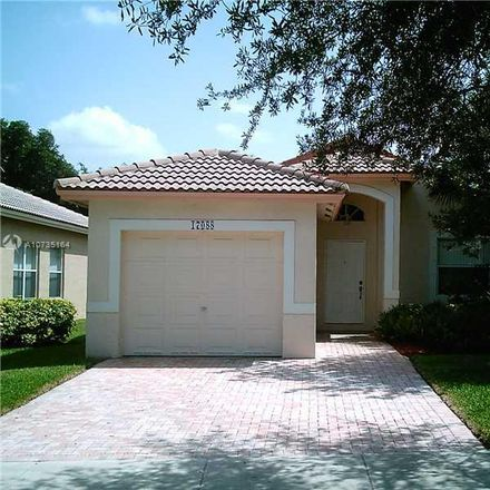 Rent this 3 bed house on Northwest 11th Street in Pembroke Pines, FL 33028