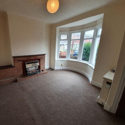 Rent this 3 bed house on Thursfield Avenue in Blackpool FY4 4AQ, United Kingdom