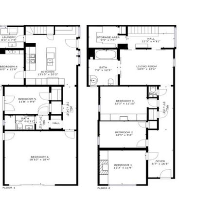Rent this 1 bed room on 158 Bernard Street in San Francisco, CA 94109