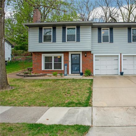 Rent this 3 bed house on 1239 Green Knoll Dr in Fenton, MO