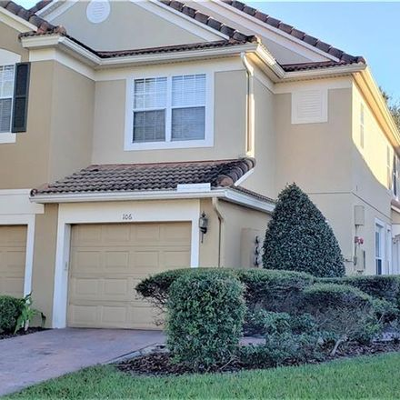 Rent this 3 bed townhouse on 6310 Ranelagh Drive in MetroWest, FL 32835
