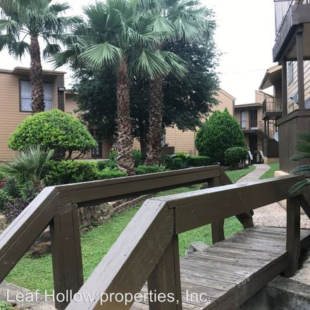 Rent this 1 bed apartment on Alcott Drive in Houston, TX 77080