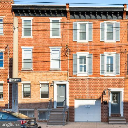 Rent this 3 bed townhouse on 619 South 11th Street in Philadelphia, PA 19147