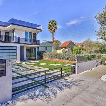 Rent this 4 bed house on 741 North Ogden Drive in West Hollywood, CA 90046